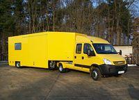 Iveco EcoDaily Sattelzugmaschine mit Auflieger - GoBox mautfrei in Österreich bis 8,4 Tonnen