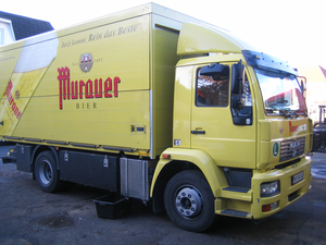 Biertrasporter Murauer Bier, herstellt von der Firma Draxler - Leibnitz