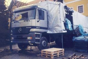 Mercedes Actros Lifting, herstellt von der Firma Draxler - Leibnitz