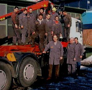 Das Team der Firma Draxler